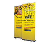 Custom Banner Stand Printing