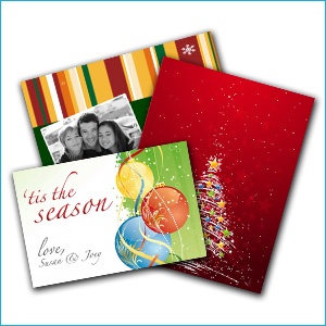 greeting card printing - Christmas Card Print Out